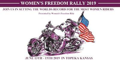 Women's Freedom Rally 2019