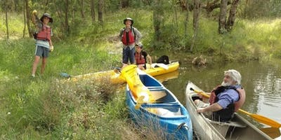 Murray River Cleanup paddle