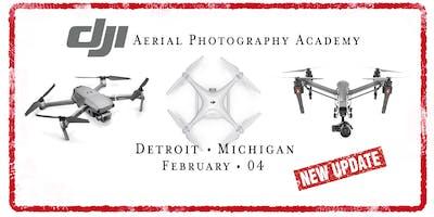 DJI Drone Photo Academy – Detroit, MI.