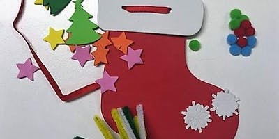 Make your own Santa Stocking Decoration