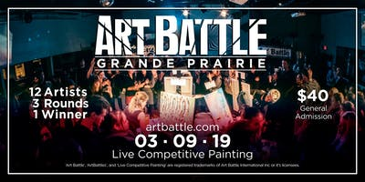 Art Battle Grande Prairie - March 9, 2019