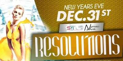 Syrus Entertainment & Napthali Music Presents Resolutions