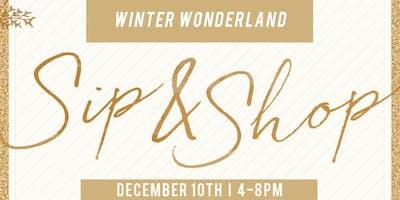 Winter Wonderland Sip & Shop
