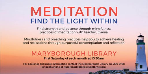 Meditation - Maryborough Library