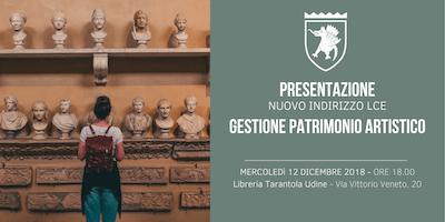 """Presentazione nuovo indirizzo """"Gestione Patrimonio Artistico"""" LCE"""