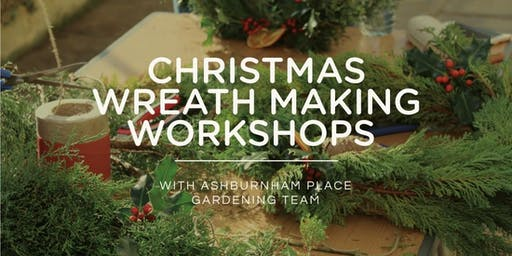 Christmas Wreath Making Workshops 2019 with Jay Ashworth - SAT FULL!