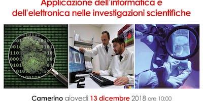 Applicazione dell'informatica e  dell'elettronica nelle investigazioni scientifiche