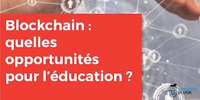 Technologies Blockchain : quelles opportunités pour l\