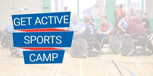 WheelPower - Get Active Sports Camp (Adults) - 2nd Nov 2019