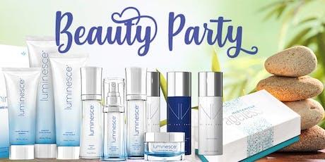 Beauty Party - Trattamento di bellezza biglietti