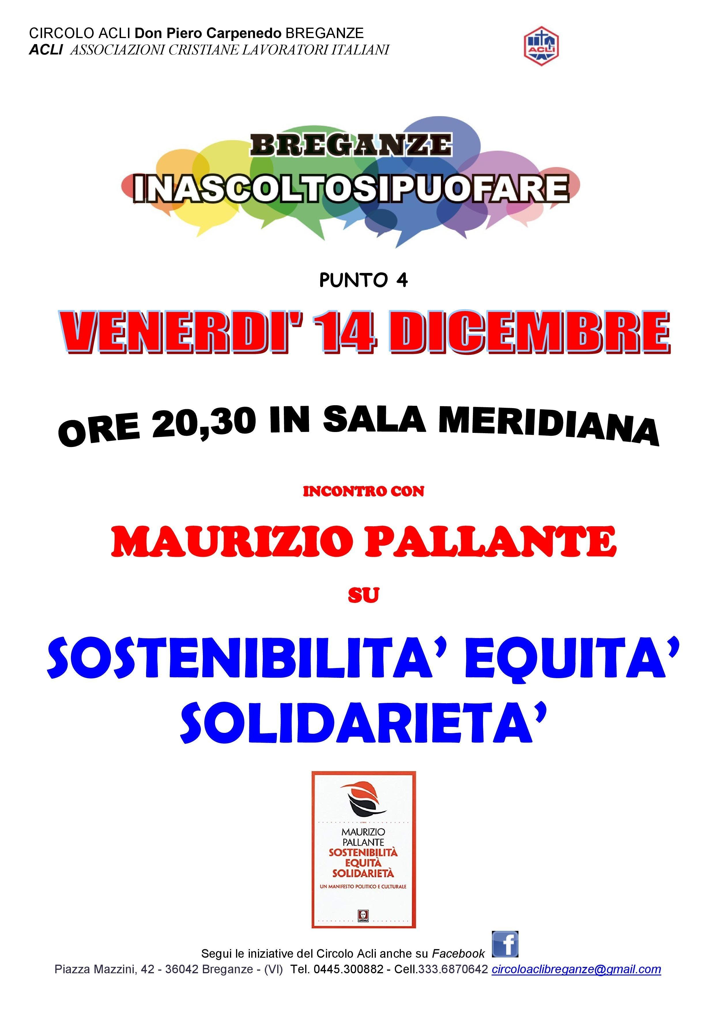 SOSTENIBILIA' EQUITA' SOLIDARIETA'
