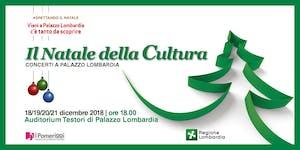 Il Natale della Cultura a Palazzo Lombardia