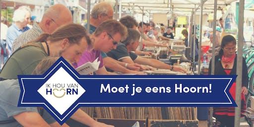 Moet je eens Hoorn! met openlucht platen- en CDbeurs