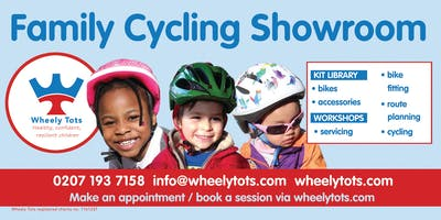 Visit the Wheely Tots Family Cycling Showroom