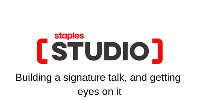 Build a signature talk, and get eyes on it with Rina & Daniyal