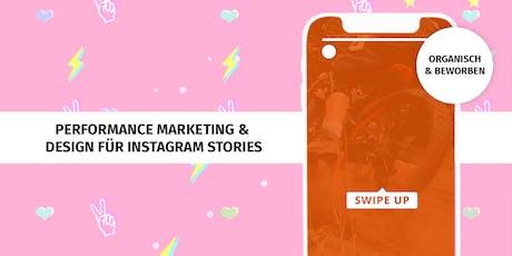 Performance Marketing & Design für Instagram Stories Tickets