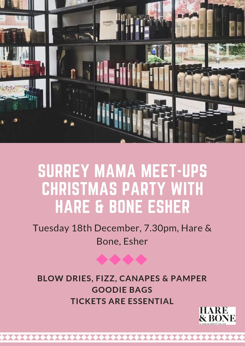 Surrey Mama Meet-ups Christmas Pamper Do!