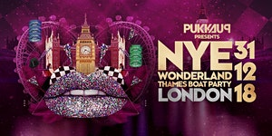 Pukka Up NYE Thames Boat Party – Wonderland - London