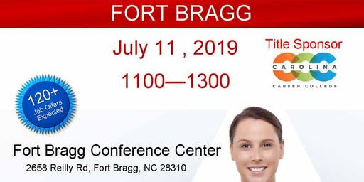 Fort Bragg Veteran Job Fair - July 2019