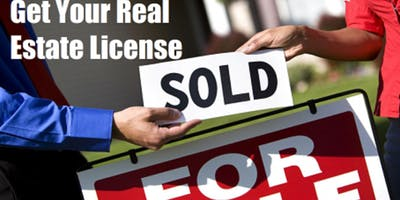 Real Estate Salesperson License Class (8 Weekdays) Starts JAN.7, 2019