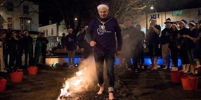 Santa Sizzle Firewalk 2019