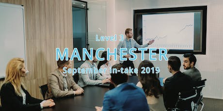 ILM Level 3 Certificate Leadership and Management - Manchester September In-take 2019 tickets