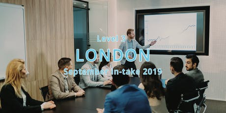 ILM Level 3 Certificate Leadership and Management - London September In-take 2019 tickets