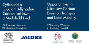 Opportunities in Ultra Low Carbon Emission Transport...
