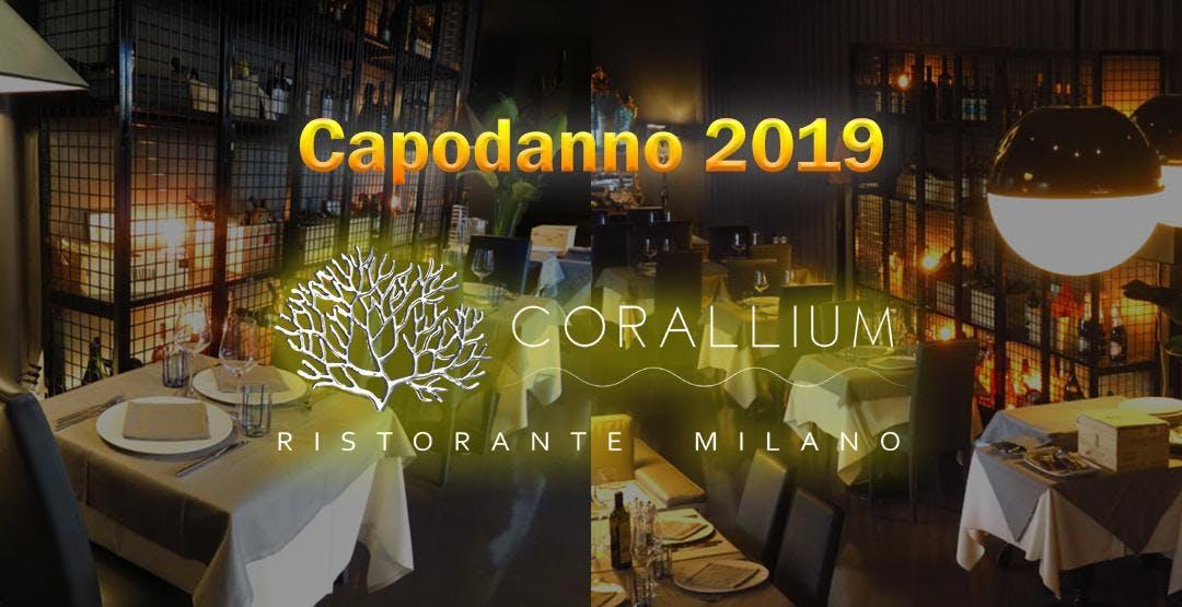 Capodanno 2019 Corallium Ristorante