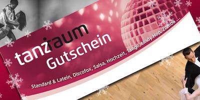 Geschenkgutscheine zum verschenken / Tanzschule tanzraum / 3x in Köln / 1x in Hürth
