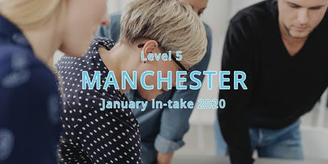 ILM Level 5 Certificate Leadership and Management - Manchester January in-take 2020 tickets