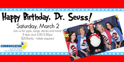 Sign and Fun - Happy Birthday, Dr. Seuss 2019