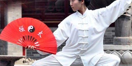Tai Chi Kung Fu Fan Workshop tickets