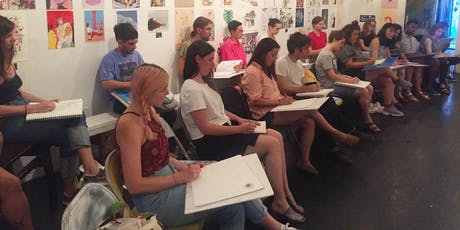 Drink & Draw Wednesdays! tickets