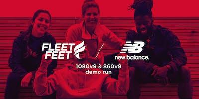 Fleet Feet Running Club: New Balance 1080 V9 & 860 V9 Trial Run