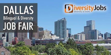 Dallas Bilingual & Diversity Job Fair tickets
