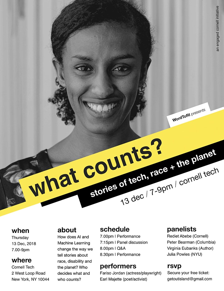 What Counts? Stories of Tech, Race and the Planet image