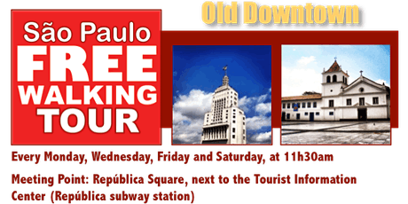 SP Free Walking Tour - OLD DOWNTOWN ingressos