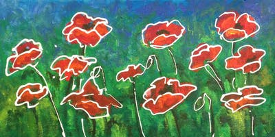 Friday Night ArtUP - A Guided Painting Party