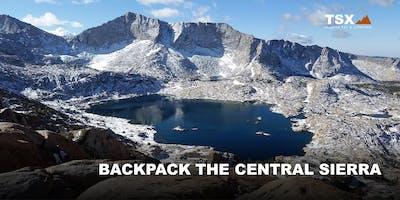 Backpack the Central Sierra - REI Fresno