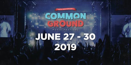 Common Ground Music Festival 2019 tickets