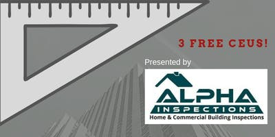 3 Free CEU - Home Inspections with Alpha
