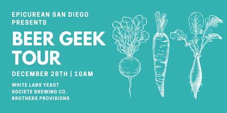 Beer Geek Tour tickets