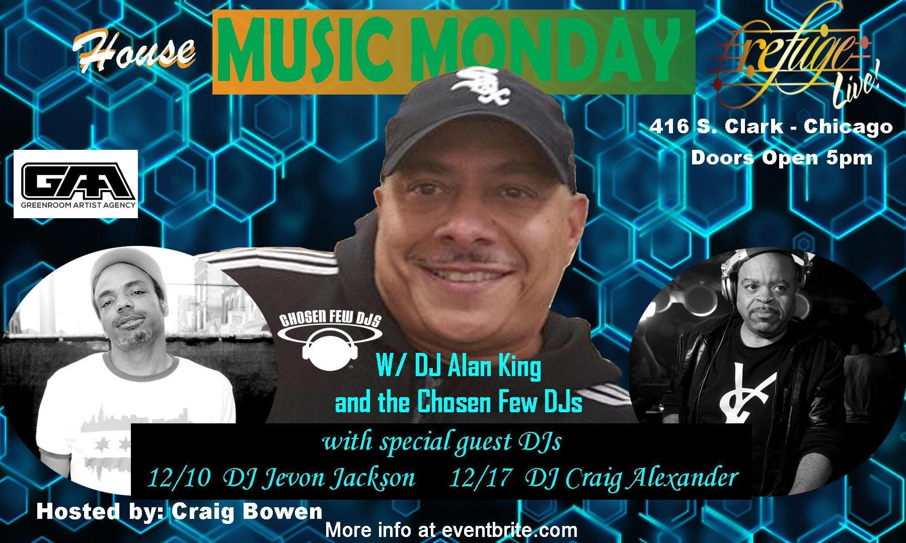 House Music Monday Dec 10