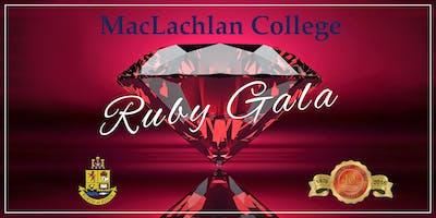 Ruby Gala - MacLachlan College 40th Anniversary