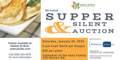Station 20 West Supper and Silent Auction