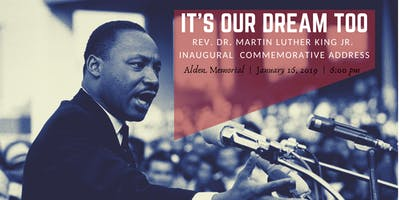 WPI's Inaugural Reverend Dr. Martin Luther King Jr. Commemorative Address