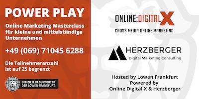 Power Play: Online Masterclass für kleine und mittelständische Unternehmen