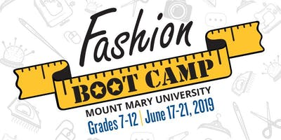 Fashion Boot Camp 2019 at Mount Mary University