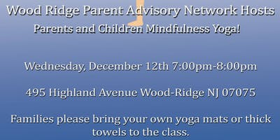 Mindfulness Yoga for children and parents